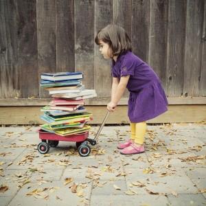 niños que aman la lectura