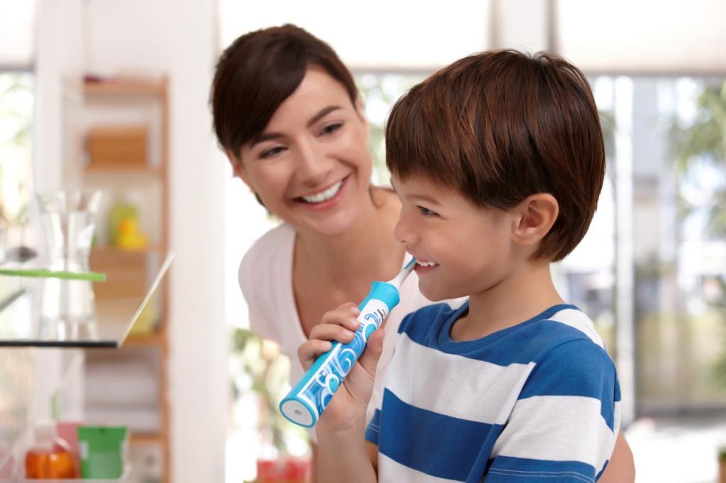 cepillen sus dientes