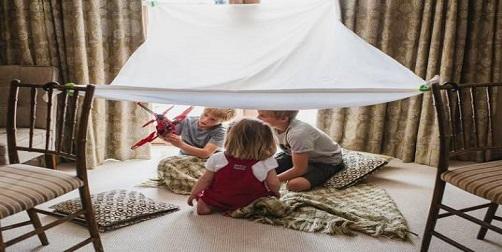 Campamento en casa: ideas maravillosas que tus pequeños amarán