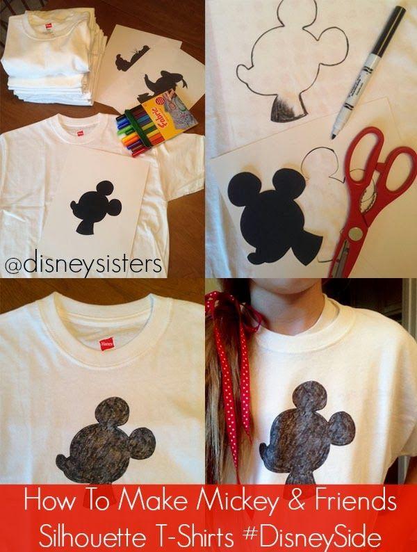 ideas ecol243gicas para una camisa al estilo disney