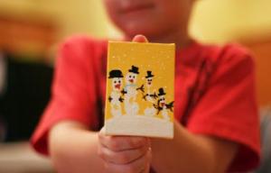 hacer adornos de navidad - paso 5