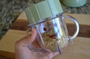 papilla de arroz para nuestros bebés - paso 1