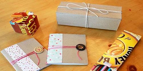 Envoltorios para regalos creativos y ecol gicos pollito - Envoltorios para regalos ...