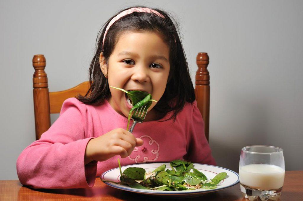 alimentación balanceada para los pequeños