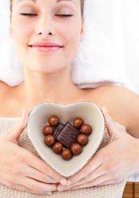 las mujeres embarazadas deberían comer más chocolate