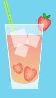 Limonadas frescas y saludables - fresa