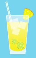 Limonadas frescas y saludables - piña