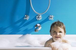 un baño detox para nuestros pequeños