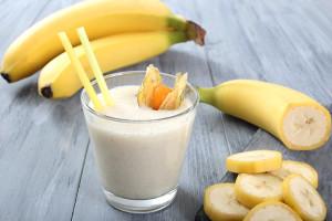 batidos saludables - banana