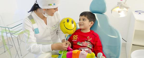 consulta con el odontopediatra