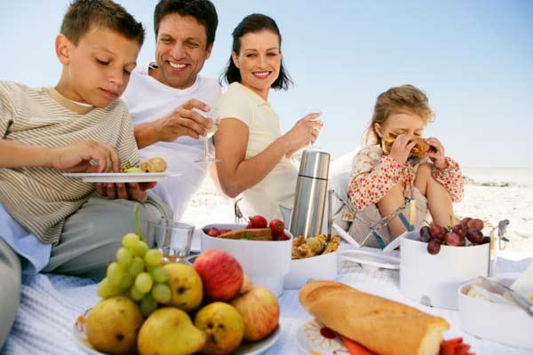 snacks saludables para vacaciones