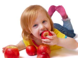comida saludable para los pequeños de casa.
