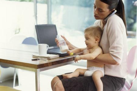 Equilibrio entre trabajo y crianza