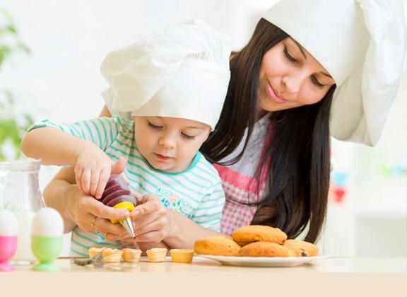 cocinando con nuestros hijos