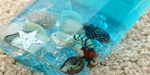 Plástico reciclado: las botellas sensoriales
