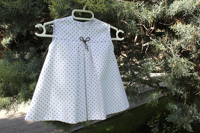 cómo hacer un lindo vestido para tu bebita