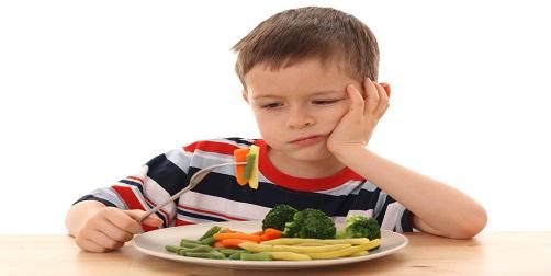 qué hacer cuando tu niño no quiere comer vegetales