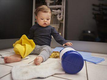 Las intoxicaciones en nuestros niños
