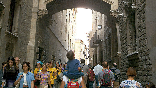 Barcelona de lo mejor en destinos familiares.